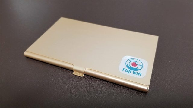 FUJIWifiのSIMカードケース