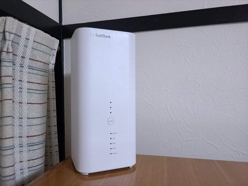 SoftBankのAirターミナル4